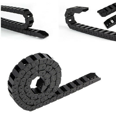 Cable Drag Chain Wire Carrier 10×10mm-15×30mm Plastic Bridge Closed Type R38 1M