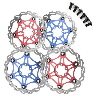 Red Blue Black Color Cycling Bicycle Bike Brake Floating Disc Rotor 160/180mm