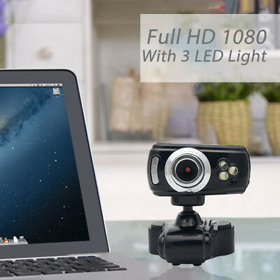 Full HD USB 50.0M Webcam Video Camera with Microphone for PC Laptop Skype