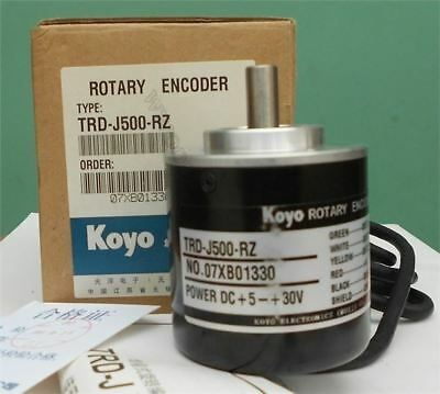 Koyo Rotary Encoder TRD-J500-RZ New In Box oc