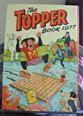 The Topper Book 1977 by DC Thopmpson