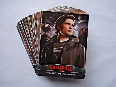 2012 Cryptozoic *smallville The Final Seasons* Complete 85 Card Base Set