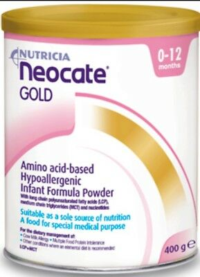 Neocate Gold 400g Baby Formula 0-12 Months OzHealthExperts