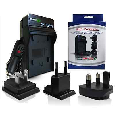 AC/DC Battery Charger For Sony G Type Lithium NP-BG1 !