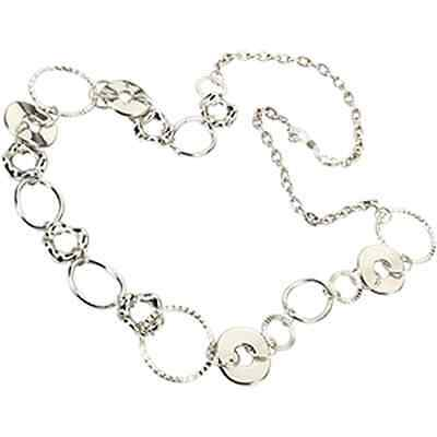 Eyeglass Readers Chain Holder Dangler Lanyard Necklace Jax Silver Loops