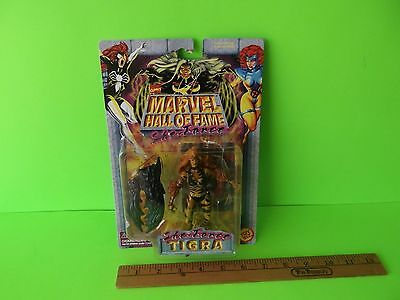 """Marvel Hall of Fame She-Force Tigra 5""""in Action w/Battle Claw Toy Biz 1997"""