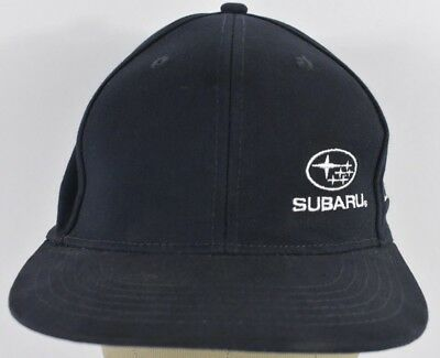 Blue Subaru Company Logo Embroidered Baseball Hat Cap Adjustable Snap back