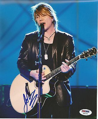 Johnny Rzeznik Goo Goo Dolls autographed 8x10 photo RP
