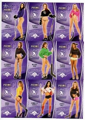 2015 Benchwarmer Hockey Toronto Spring Expo Promo 12-Card Set
