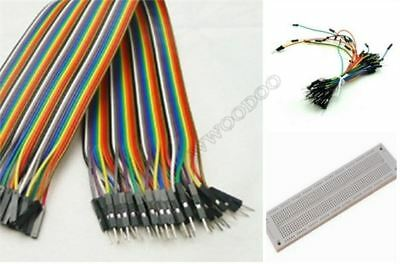 BREADBOARDSYB-130+40PCS Dupont CABLE+65PCS Jumper Wire For Arduino mc