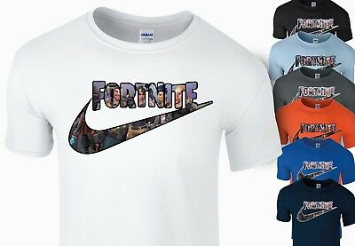 Fortnite T Shirt Kids Boys Gamer Girls Xbox Playstation T-Shirt Soft Cotton