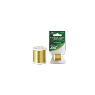 Clover Embroidery Thread Gold 50/66 #9902