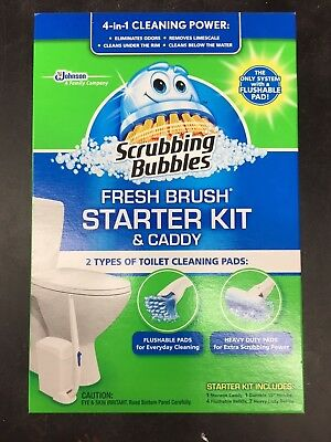 Scrubbing Bubbles Fresh Brush Starter Kit & Caddy
