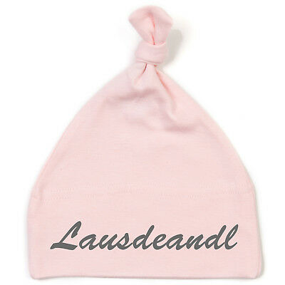 Schnoschi Baby Cap with Lausdeandl High-Quality Embroidered/Embroidered