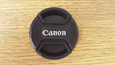 55mm Front Centre Pinch Lens Cap For Canon made by Sonia.