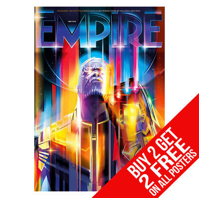 Avengers Infinity War Thanos Empire Poster W13 A4 / A3  - Buy 2 Get Any 2 Free