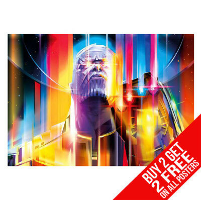 Avengers Infinity War Thanos Poster W13 Print A4 / A3  - Buy 2 Get Any 2 Free