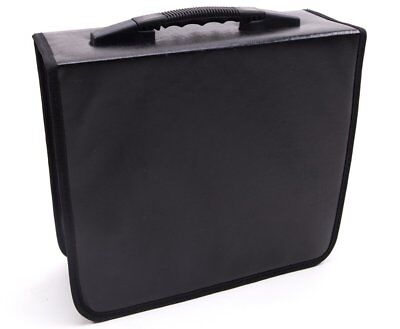 400 Disc CD/DVD Binder DVD Wallet Case,Black
