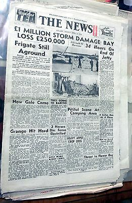 1948 The News ~ Adelaide,  'million Pound Storm' ~ Full Newspaper