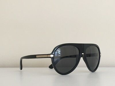 24e94f142392 4 Versace MOD 4321 GB1 87 Shield Black Gray Gold Gradient Sunglasses 58-15