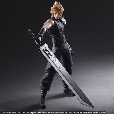 Final Fantasy VII Remake - Play Arts Kai Actionfigur No. 1 Cloud Strife 28 cm...