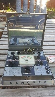 Sencore Mighty Mite TC109 tube Tester/Checker