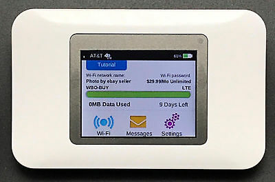 AT&T Unite Pro WiFi Hotspot Capable of Getting $29.99/ Mo Unlimited 4G LTE Data