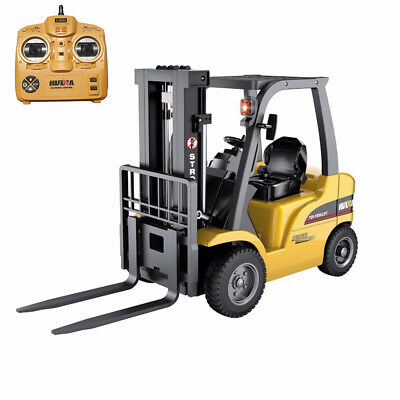 Lenoxx 52cm 1:10 RC Remote Control Fork Lift/Truck/Trailer w/ Sounds/lights Toy