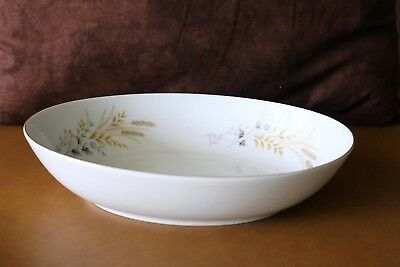 "Fine China of Japan - AUTUMN WHEAT - MSI - 10 1/8"" Oval Serving / Vegetable Bowl"
