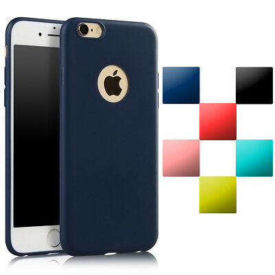 For Apple iPhone 6s 6 Plus Case Ultra Thin Gel Rubber Silicone TPU Bumper Cover