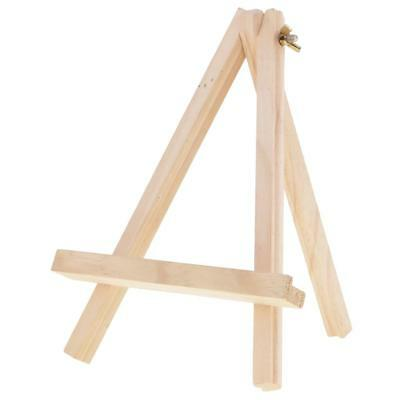 Small Tripod Wooden Easel Display Painting Art Craft Wedding Home Decoration