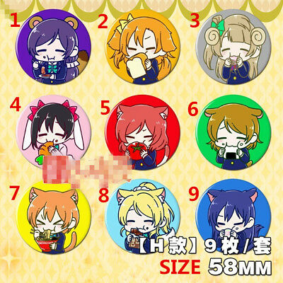 """2.3/"""" T630  Hot Anime TouHou Project badge Pin button Cosplay 5.8CM"""