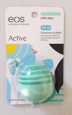 EOS Evolution of Smooth Active Broad Spectrum SPF 30 Sunscreen Lip Balm W/ Aloe