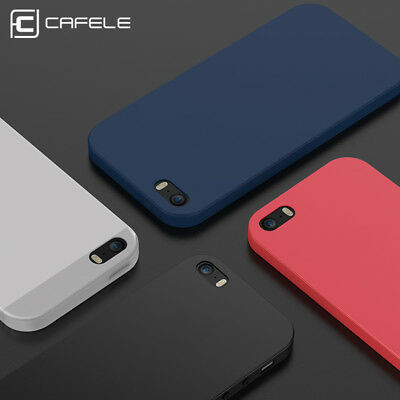 Luxury Ultra Thin Slim Soft TPU Rubber Matte Back Case Cover For iPhone 5 5S SE