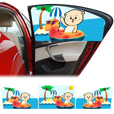 Octopus Animal Personalised Car Sun Shade Window Baby Protection
