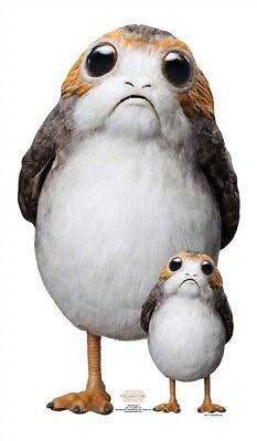 Star Wars The Last Jedi Pappaufsteller (Stand Up) - Porg (72 cm)
