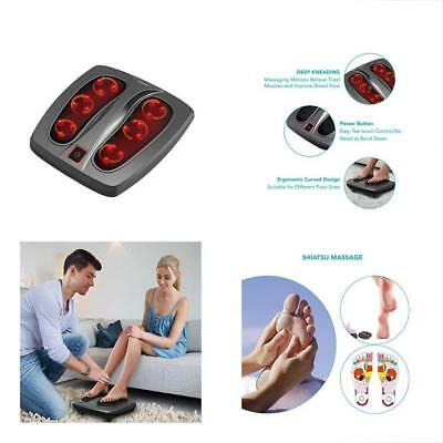 Shiatsu Foot Massager With Heat Deep Kneading Therapy Feet - Relieve Plantar &