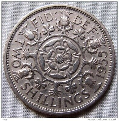 Great Britain 1955 - Florin (Two Shillings)