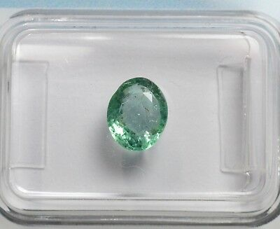 Emeraude - 1,03 ct - Natural emerald igi certified