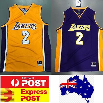 Lakers Lonzo Ball Jersey Home Color