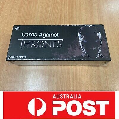 Cards Against Thrones, the Funny Board Game For Game Of Thrones, AU Stock