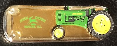 Franklin Mint John Deere 1948 Model B Tractor w/Moving Wheel Collectible Knife