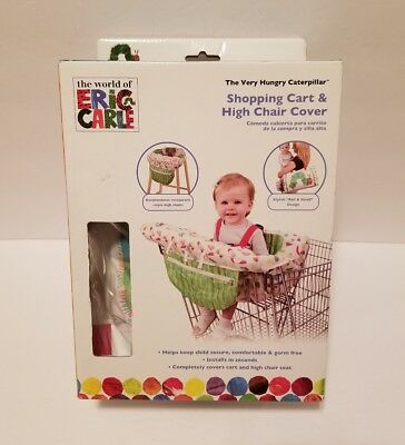 New Eric Carle The Very Hungry Caterpillar Baby Shopping Cart High Chair Cover