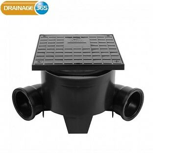 280mm x 90 Degree Inspection Chamber Base & Square Cover(250mm High)
