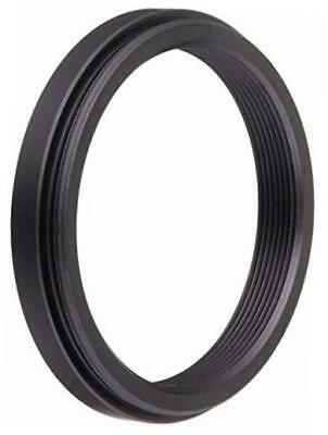 metal step down ring filter adapter, anodized black aluminum 43mm-37mm, 43-37