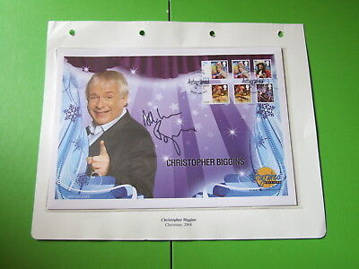 Westminster Autographed Editions Cover Fdc 2008  Signed Christopher Biggins