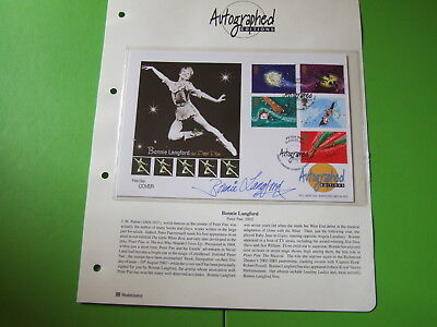 Westminster Autographed Editions Cover Fdc Peter Pan Signed Bonnie Langford