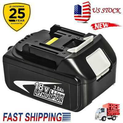 18V 3.0AH 1830B Battery For Makita BL1840 BL1830 BL1815 LXT Lithium Ion Cordless
