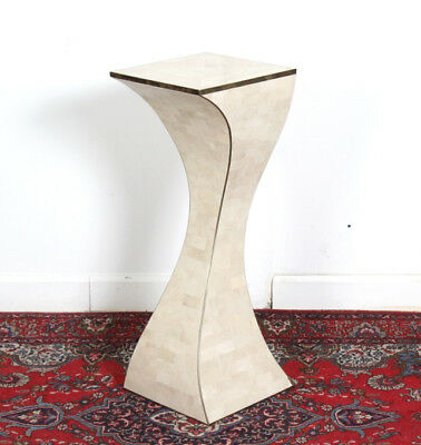 Maitland Smith Tessellated Stone Stand Plinth Lot 432