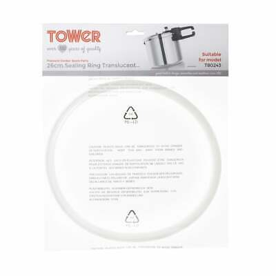 Tower TS1008 26cm Sealing Ring Transparent for T80243 Pressure Cooker